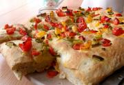 Easy Focaccia With Sun Dried Tomatoes