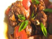 Brown Stewed Chicken by Keith Lorren