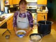 Vietnamese Bamboo Shoots and Chicken Noodle Soup - Part 1 - Soaking Bamboo Shoots