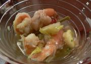 Pickled Shrimp With Onion