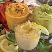 Hummus is a sumptuous dip made from chickpeas