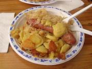 Potato Sauerkraut Dinner