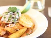 Camarones Salteados  (Peruvian Sautéed Shrimp)