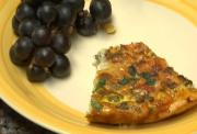 Southwestern Pizza Quiche with Green Chilies