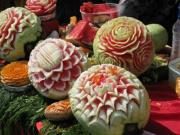 Fruit Carvings: Speciality of Thai Food Festivals