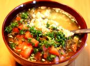 Garden Vegetable Tabbouleh Stew