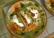 Taco Made with Carne Mechada