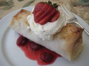 Strawberry Phyllo Dessert