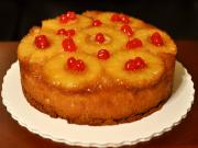 Candied Cherry Pineapple Upside Down Cake