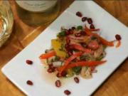 Salmon Ceviche with Pomegranate