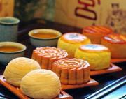 Moon cakes are Chinese pastries which are traditionally eaten during the Moon Festival