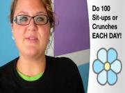 Courtney's Summer Challenge Week 9: Do 100 Sit-Ups
