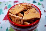 Brown Sugar Peanut Brittle