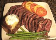 Simple Grilled Hanger Steak