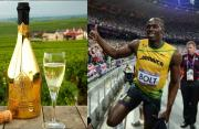 Usain Bolt treated to £80,000 Champagne at Movide nightclub.