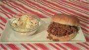 Sloppy Joe's and Cole Slaw: Easy Entertaining