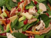 No Mess Pomegranate Salad