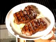 Grilled Entrecote Steaks