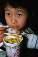 China is eating the most noodles in the world.