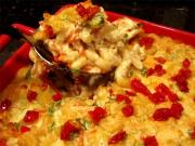 Baked Macaroni and Tomatoes au Gratin