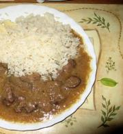 Lamb Liver with Rice