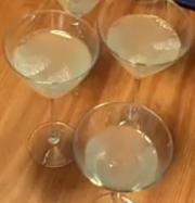 The Lemon Drop Part 1 : Lemon Vodka Gel and Lemon Curd
