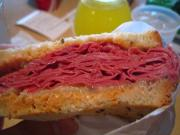Corned Beef Hash Sandwiches