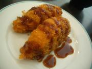 Hot Gingered Croquettes With Apricot Sauce