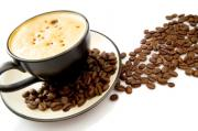 eat espresso beans while drinking coffee to bring about the complete flavor of the beans
