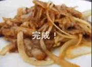 Dry  Onion and Ginger Pork