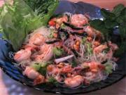 Mung Bean Noodle Salad (Yum Woon Cen)