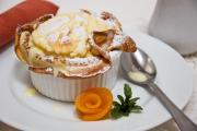 Apricot souffle