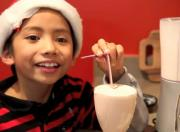 Candy Cane Milkshake - Christmas Holiday