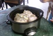 Seasoned Chicken with Garlic and Celery