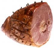 Clove Studded Broiled Ham