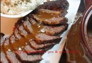 Honey Ginger Flavored Pot Roast