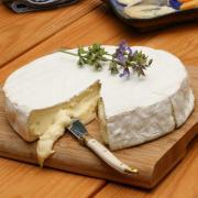 Serving Camembert cheese!
