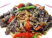 Pathan Beef Stir Fry