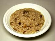 Sauteed Brown Rice and Mushrooms