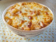 Chili Wagon Wheel Casserole