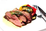 Boiled Leg Of Lamb And Parsley Sauce