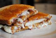 Grilled Cheese Pita Sandwiches