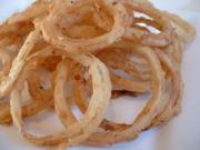 Microwave Onion Rings in Garlic Butter