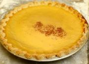 Custard Pie with Crispy Crust