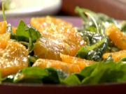 Mediterranean Orange & Arugula Salad