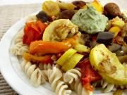Philadelphia roasted vegetable pasta
