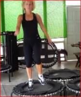 Create Your Own Fitness Trampoline or Rebounder Routine