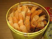 Walnut Cigarette Cookies