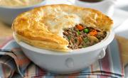 The reason behind saturated fat in pot pie beef - beef and pastry