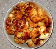 Cauliflower With Garlic And Sesame Seeds